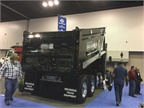 Brandon Manufacturing displayed this dump body to showcase its new