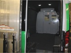 A fully carpeted interior cargo area serves a climate control services