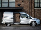 Ford's 2019 Transit Connect compact cargo van is adding a diesel engine option, fleet model that can be easily converted to run on gaseous fuel, and array of driver-assisting features to reduce accidents for commercial users. Photo courtesy of Ford