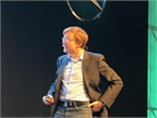 Matthias Winkenbach, director of the MIT Megacity Logistics Lab, spoke