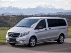 Mercedes-Benz is launching the Metris mid-size van for 2016.