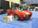 Fast copy: Shelby Cobra via 3D printer. Photo: David Cullen