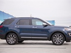 At 198.3 inches in length, Ford considers the Explorer a full-size