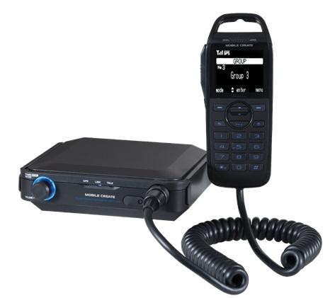 Two-way communications radio image courtesy of Mobile Create USA
