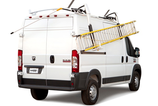 Max rack products maintenance work truck for Wrap master model 1500