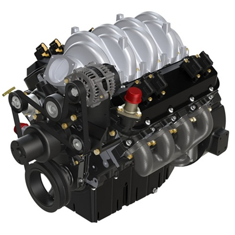 <p>PSI's new 8.8L engine was launched at the 2014 Work Truck Show. (PHOTO: PSI)</p>