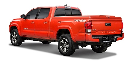 truck caps, tonneau covers for 2016 toyota tacoma - products