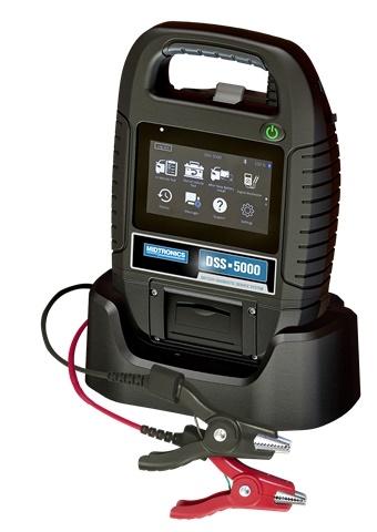 <p><em>DSS-5000 Battery Diagnostic Service System image courtesy of Midtronics, Inc.</em></p>