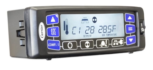 <p><em>Photo of the Cab Command controller for Supra truck refrigeration unit courtesy of Carrier Transicold.</em></p>