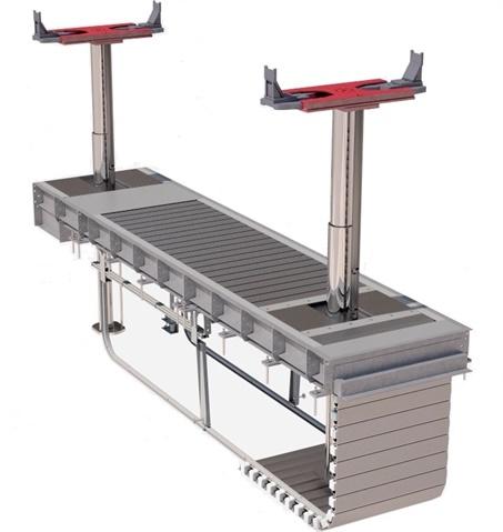 <p><em>Image of Diamond Lift continuous recess on inground platform lift courtesy of Stertil-Koni.</em></p>