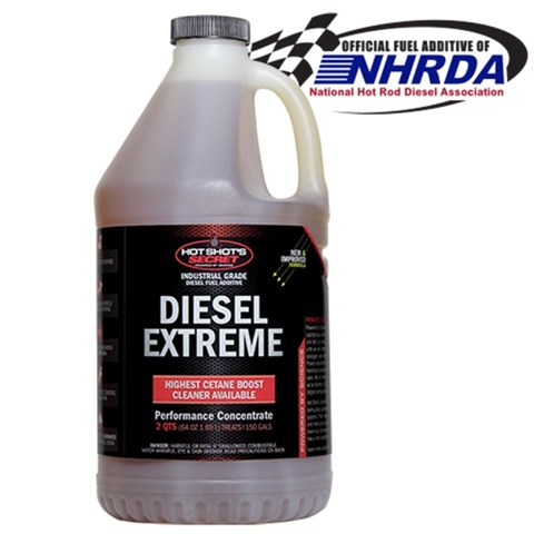<p><em>Diesel Extreme's deep clean provides six months of protection and benefits to keep engines running strong.  (Photo courtesy of Hot Shot's Secret)</em></p>