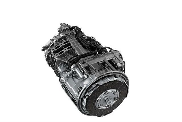 <p><em>Detroit DT12 Transmission (Photo courtesy of Detroit Diesel)</em></p>