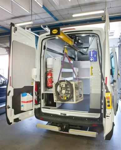 <p><em>Photo of EasyLoad Hoist courtesy of National Fleet Products</em></p>