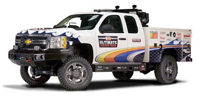 Ultimate Service Truck Products Work Truck