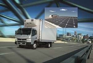 <p><span>Recently, eNow announced a partnership with Mitsubishi Fuso Truck of America to offer its basic solar powered battery charging system as a vehicle option on new Class 3-5 Fuso Caanter FE/FG Series Trucks.</span></p>