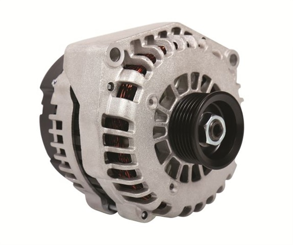 <p><em>Photo of alternator for light- and medium-duty Chevrolet and GMC trucks courtesy of LoadHandler </em></p>