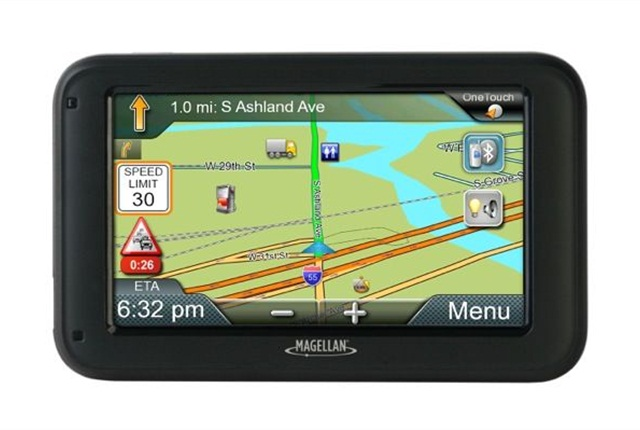 <p><span>The Magellan RoadMate Commercial 5370T-LMB GPS maximizes truck in-cab space requirements with a convenient 5-inch high-resolution touch screen display that adjusts color and contrast for optimal night visibility.</span></p>