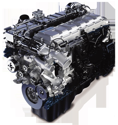 <p>MaxxForce 13.0L engine with SCR.</p>