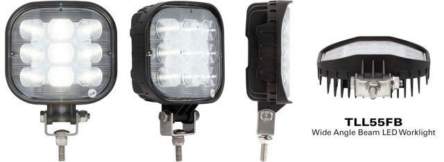 <p>Wide-angle beam LED worklight. (PHOTO: Optronics)</p>