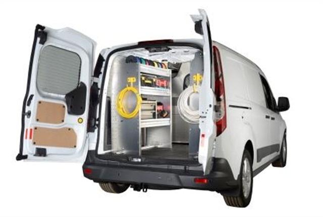 2014 Transit Connect Cargo Van Shelving And Ladder Racks