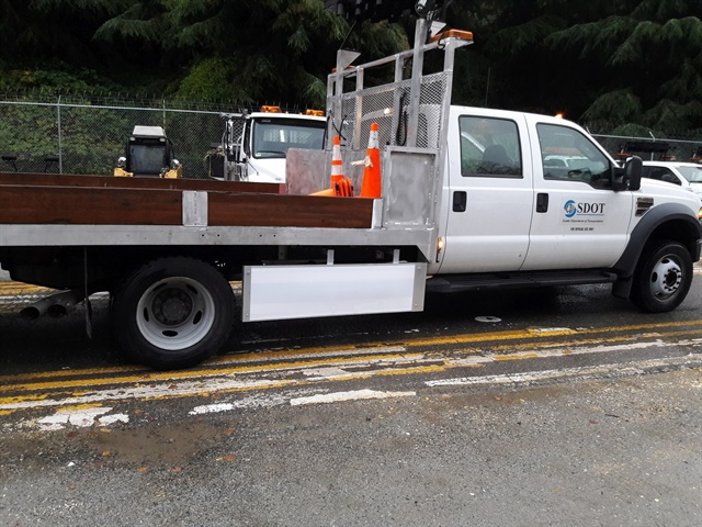 <p><em>Image of Seattle DOT F-Series truck equipped with Walker Side Guard courtesy of Walker.</em></p>