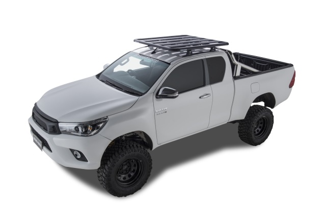 <p><em>Toyota Hilux Extra Cab (photo of Australian truck courtesy of Rhino Rack - product is available in the U.S.)</em></p>