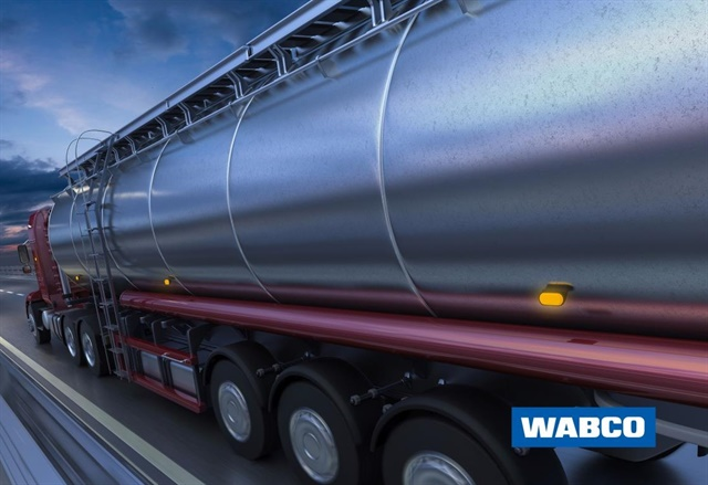 <p><em>WABCO introduced Intelligent Brake Interlock, an advanced electronic brake interlock system that helps improve the safety of tank trailers that haul hazardous materials or are equipped with cryogenic equipment. (Photo courtesy of WABCO)</em></p>