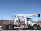 Image of 1881TM model boom truck courtesy of Elliott Equipment.
