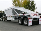 The standard features of the new trailer include ultra-high-tensile-strength steel construction, fuel-saving super single tires and lightweight aluminum wheels.