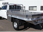 Highway Products field-tested beds also come with optional 30,000 lbs. combo fifth wheel/gooseneck ball hitch.