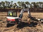 Bobcat Company E85 compact excavator. Photo courtesy of Bobcat