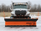 Buyers new 36-inch SnowDogg municipal snow plow is ideal for regions with lower average snowfall.