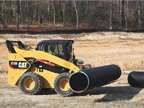 Caterpillar 272D skid steer loader