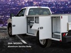 SBA Model Service Body courtesy of CM Truck Beds.