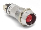 The new 12V LED pilot lights come in a wide variety of bezel sizes and terminal hole diameters.