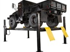 Dannmar's Major Series D-12 vehicle lifts feature a 12,000-lb capacity.