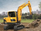 Hyundai R55-9A excavator. Photo courtesy of Hyundai.