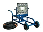 150- Watt Portable LED Work Area Light Cart (Photo: LarsonElectronics.com)