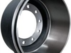 International-branded brake drums.