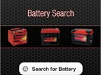 The ODYSSEY Battery Search App identifies the appropriate battery model for the year, make, model, and engine type of the vehicle specified.