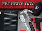 The special pricing in the Snap-on Father's Day Gift Guide is valid until June 30, 2013.