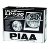 Unlike standard LED lamps that aim the bulb straight out forward, the PIAA 530 LED lamp aims its LEDs at the reflector.