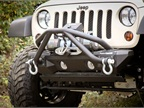 All Terrain Modular Bumper System with Double X Striker.