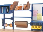 Fully customizable to individual workstations and specific tasks, the ergonomic Workbench Accessory System includes a wide variety of options.